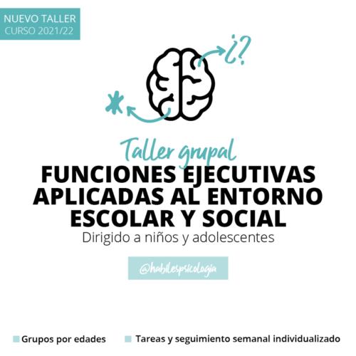 Funciones Ejecutivas aplicadas al entorno escolar y social dirigido a niños y adolescentes